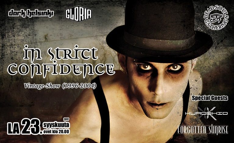 In Strict Confidence (GER) - Vintage Show (1996-2004) + Special guests Liput
