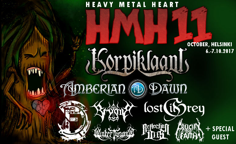 Heavy Metal Heart 11 tickets