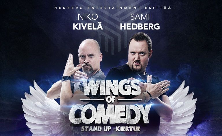 Wings Of Comedy - Hedberg & Kivelä liput