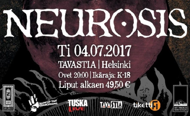 TuskaLive & Blow Up That Gramophone esittävät: Neurosis (USA), Dark Buddha Rising tickets