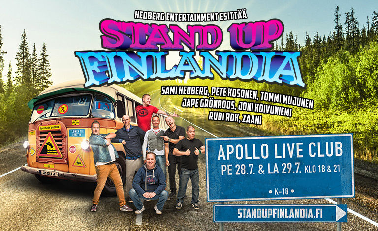 Stand up Finlandia tickets
