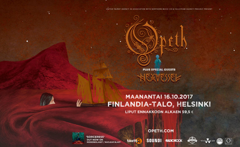 Fullsteam proudly presents: Opeth (SWE), Hexvessel liput