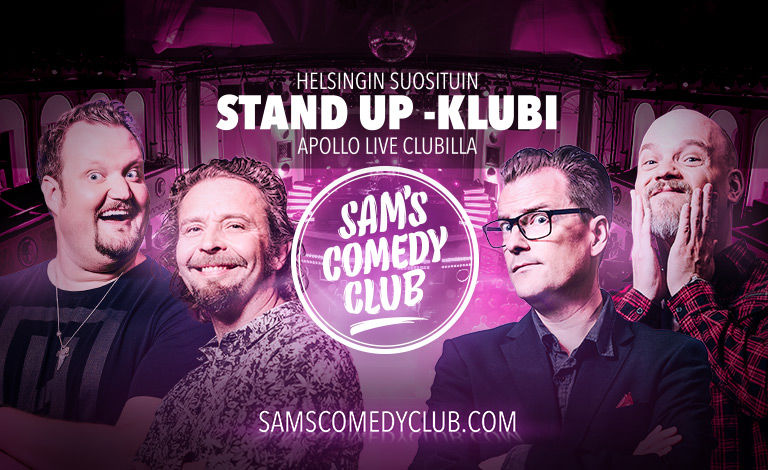 Sam's Comedy Club Special Liput