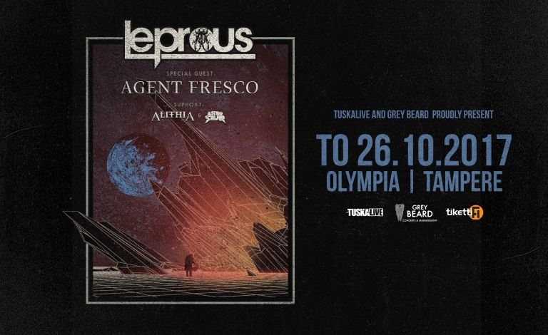 Leprous (NOR), Special Guest: Agent Fresco (ISL), supports: Alithia (AUS), Astrosaur (NOR) Liput