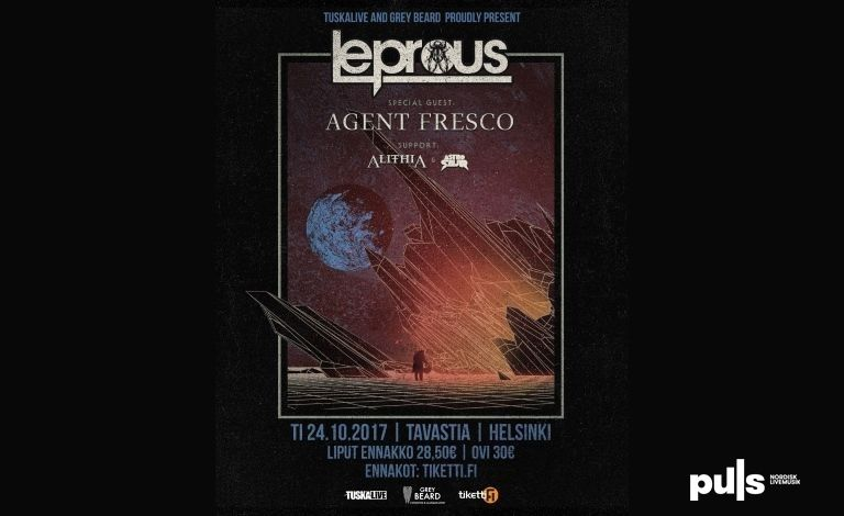 Leprous (NOR), Special Guest: Agent Fresco (ISL), supports: Alithia (AUS), Astrosaur (NOR) tickets