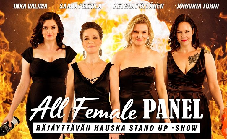 All Female Panel stand up -klubi liput