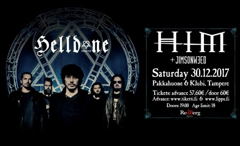 Helldone 2017: HIM, Jimsonweed Tickets