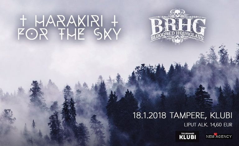 Harakiri for the Sky (AUT), Bloodred Hourglass liput