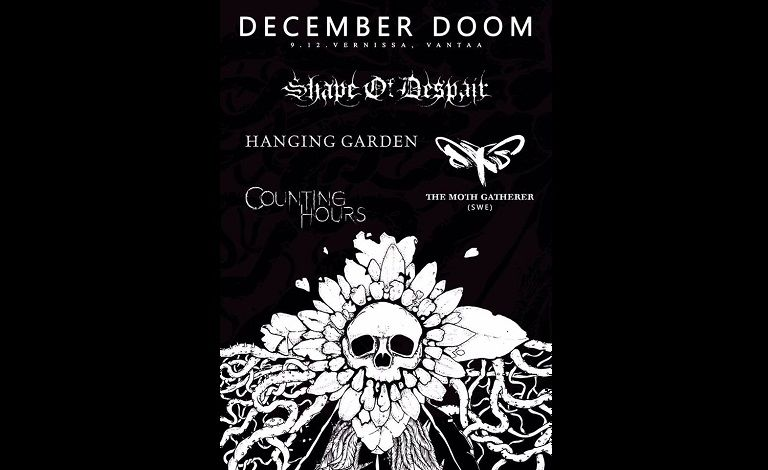 December Doom: Shape Of Despair, Hanging Garden, The Moth Gatherer (SWE), Counting Hours Tickets