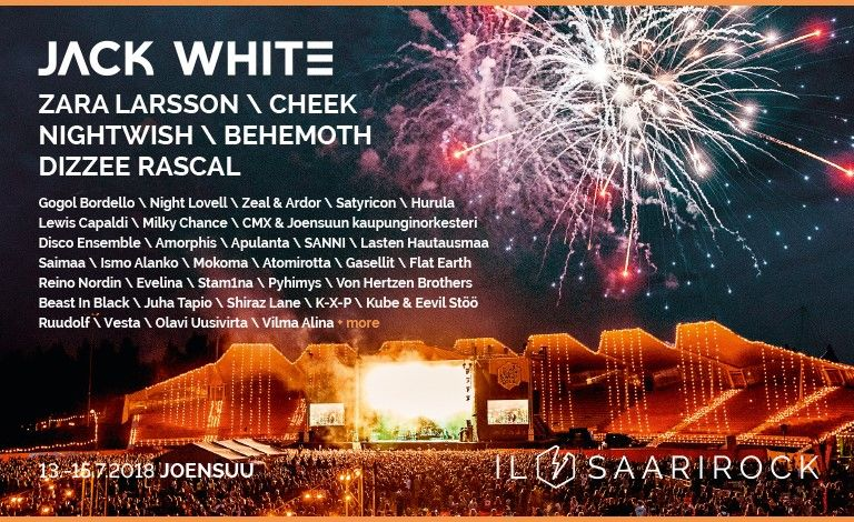 Ilosaarirock 2018 Tickets