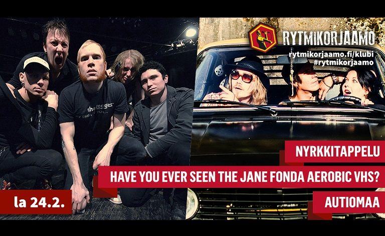 Nyrkkitappelu, Have You Ever Seen The Jane Fonda Aerobic VHS?, Autiomaa Tickets