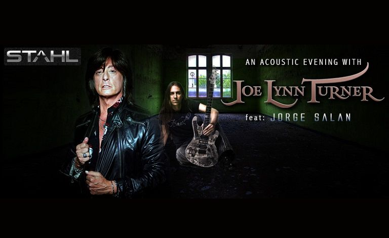 An acoustic evening with Joe Lynn Turner feat. Jorge Salan, 2nd edition Tickets