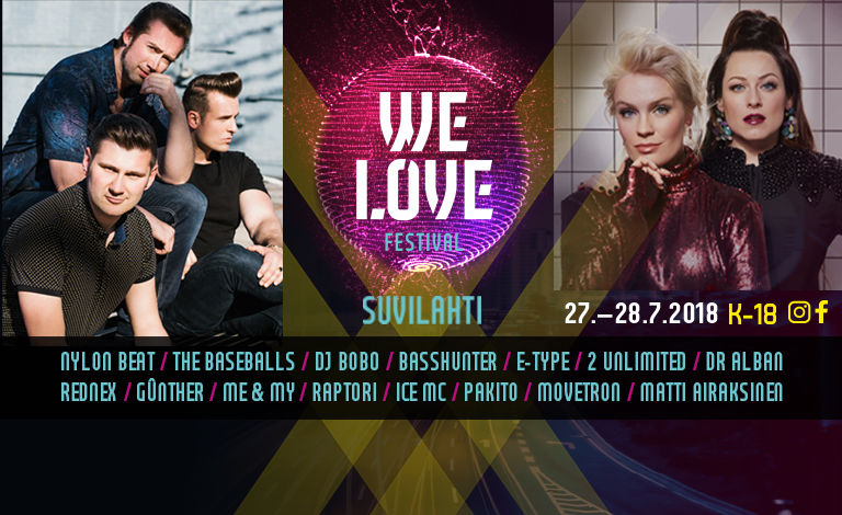 We Love Festival 2018 Liput