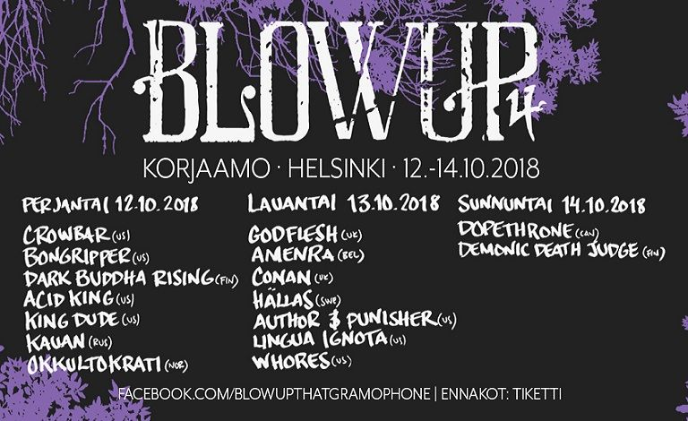 Blowup Vol. 4 Liput