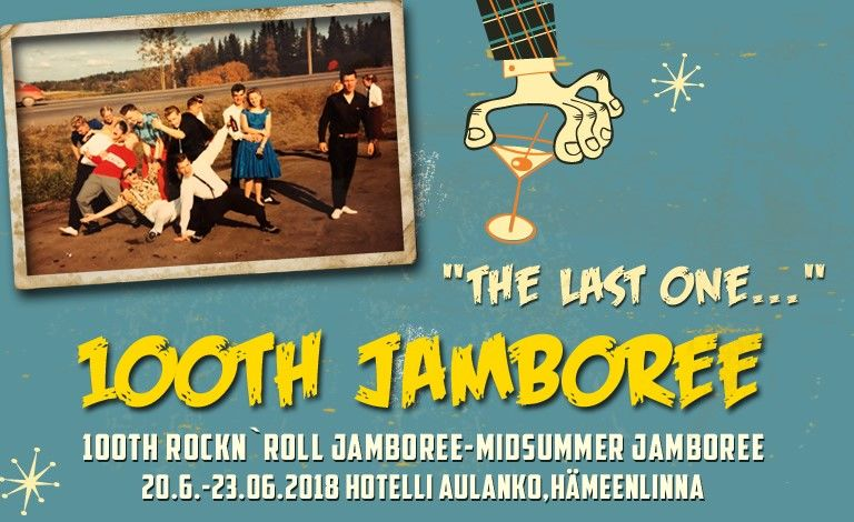 100th Rock'n'Roll Jamboree - Midsummer Jamboree Liput
