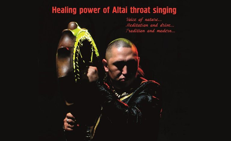 Healing power of throat singing: Alexey Chichakov (Altai / RUS) Liput