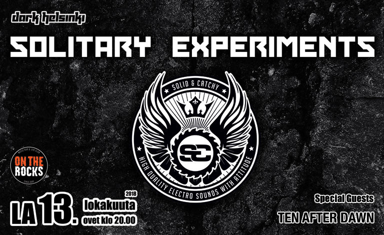 Solitary Experiments (GER) Tickets