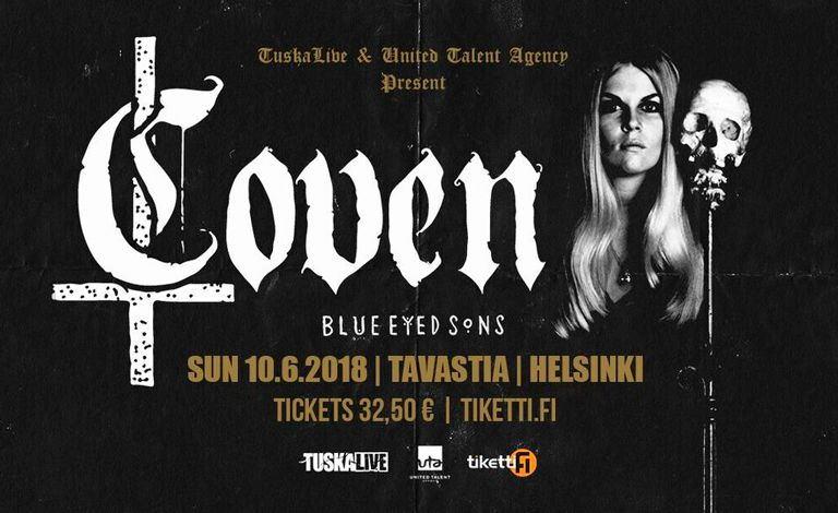 Coven (USA), Blue Eyed Sons Liput