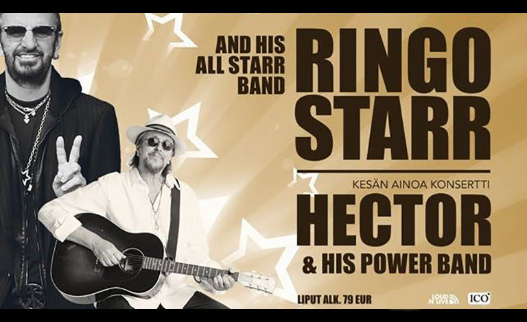 Ringo Starr & His All Starr Band / Hector & His Power Band Liput