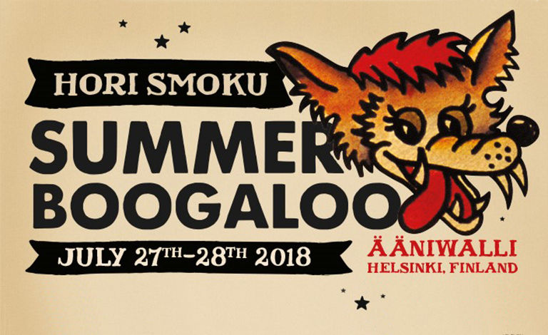 Hori Smoku Summer Boogaloo 2018 Liput