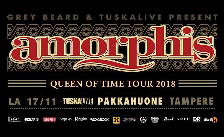 Amorphis - Queen Of Time Tour, CyHra Liput