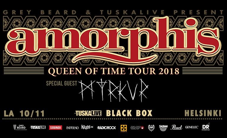 Amorphis - Queen Of Time Tour, Special Guest: Myrkur (DEN) Liput