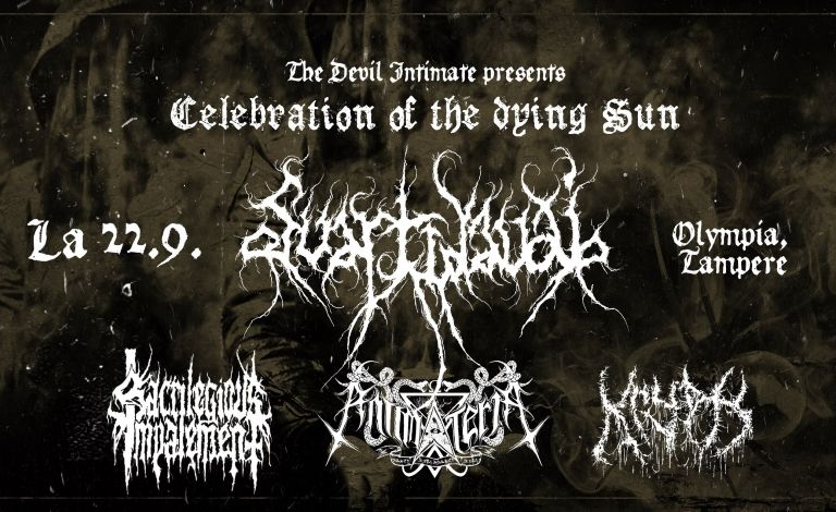 The Devil Intimate presents: Svartidaudi (ISL), Sacrilegious Impalement, Krypts, Antimateria Tickets