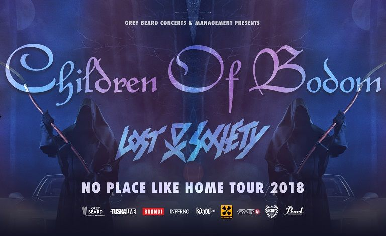 Children of Bodom, Lost Society Liput