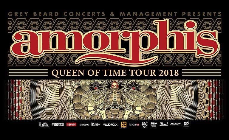 Amorphis - Queen Of Time Tour Tickets