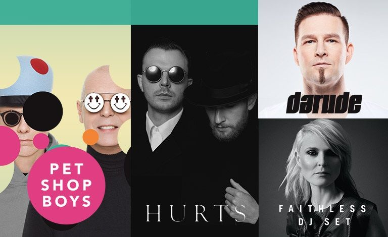In The Park: Pet Shop Boys, Hurts, Faithless DJ-Set, Darude Liput