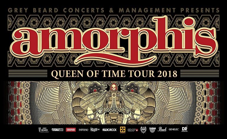Amorphis - Queen of Time Tour 2018, Wheel Liput