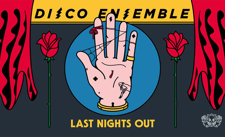 Disco Ensemble - Last Nights Out w/ Penniless, Highschool Dropouts Liput