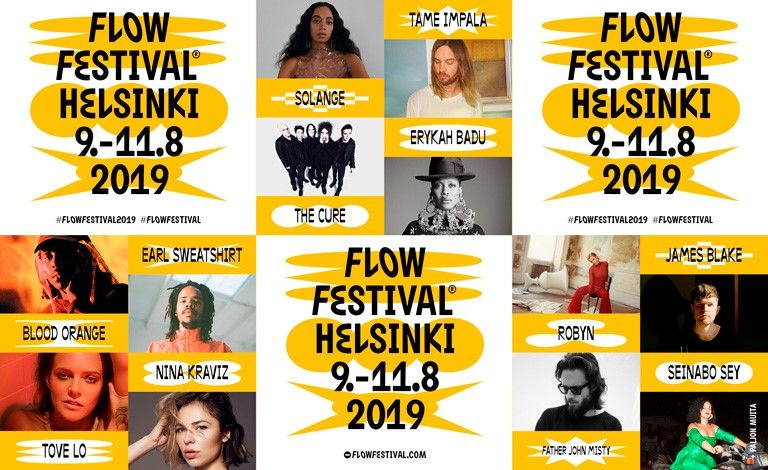 Flow Festival 2019 Tickets