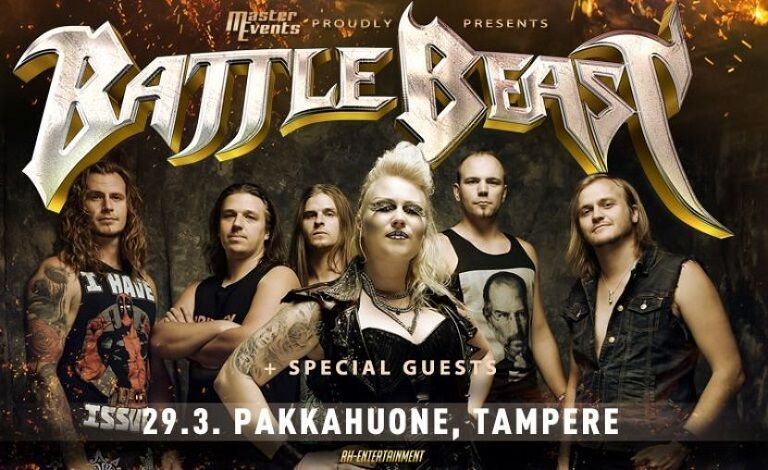 Battle Beast + Special Guests Liput