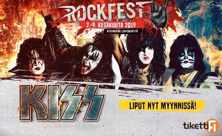 Rockfest 2019 - liput - Hyvinkään lentokenttä, Hyvinkää - 7. - 9.6.2019 - Tiketti