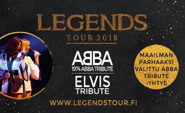 Legends at Rovaniemi: Abba & Elvis tribute Liput