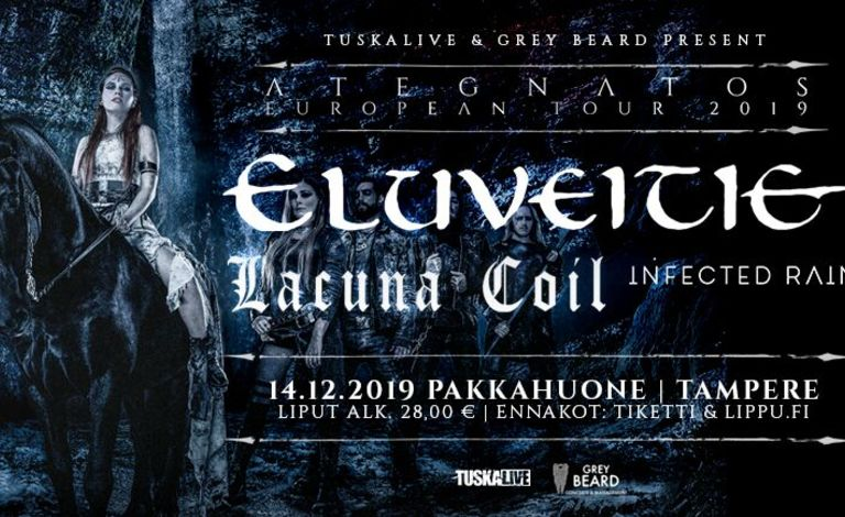 Eluveitie, Lacuna Coil, Infected Rain Tickets