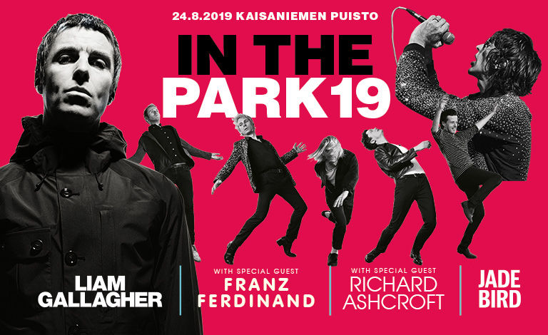In the Park presents: Liam Gallagher, Franz Ferdinand, Richard Ashcroft Liput