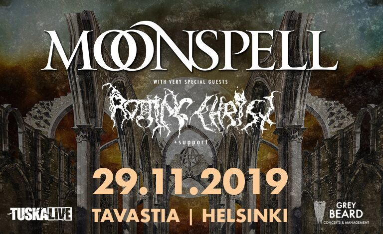 Moonspell (POR), Rotting Christ (GRC) Tickets
