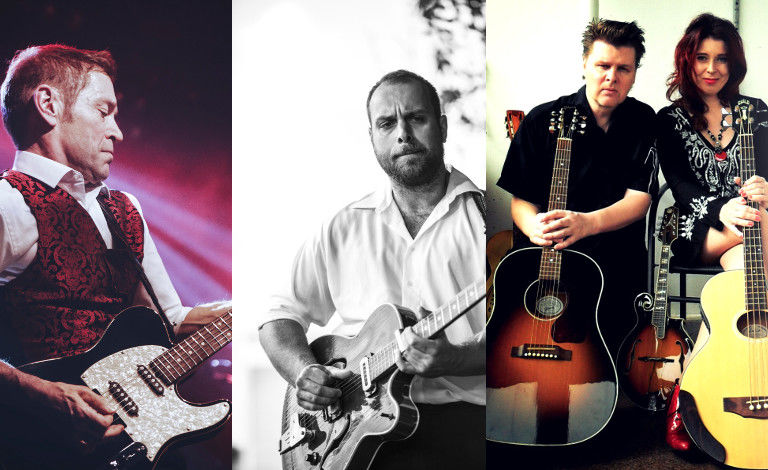 XIV Kukonhiekka Blues 2019: Lena & The Slide Brother Duo, Big Creek Slim Band (DK/FIN), Black Devils feat. Ile Kallio plays Hurriganes Liput