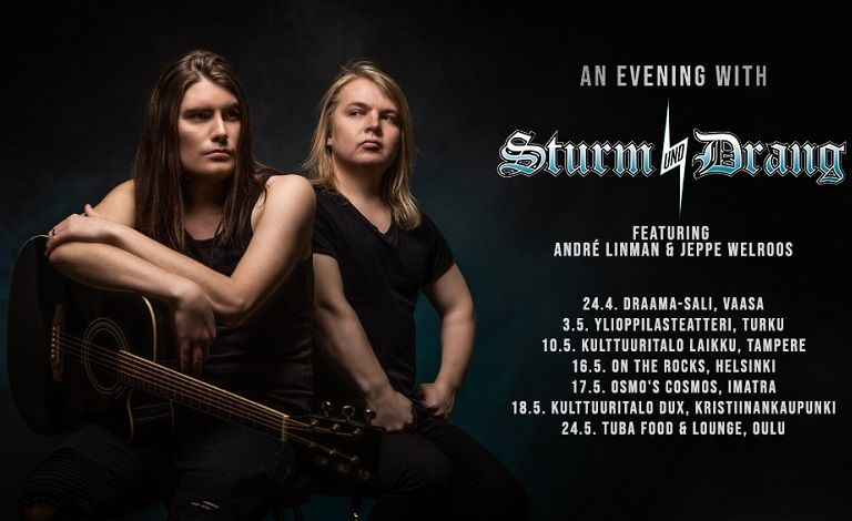 An Evening With Sturm und Drang! André Linman & Jeppe Welroos Liput