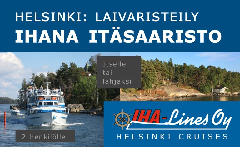 Helsinki Archipelago Cruise for 2 Persons Tickets