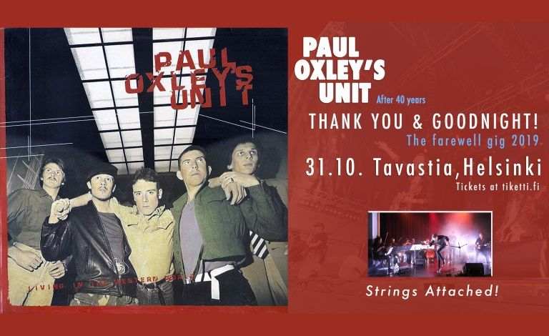 Paul Oxley´s Unit - Farewell gig 2019 - After 40 Years Tickets