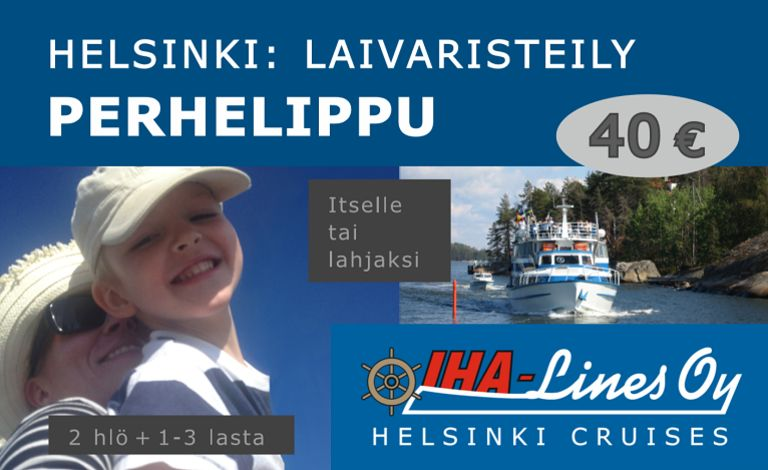 Local Helsinki Cruise Family Ticket Tickets