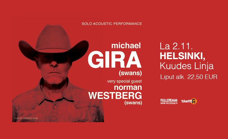 Michael Gira (Swans, US) + Norman Westerberg (Swans, US) Tickets