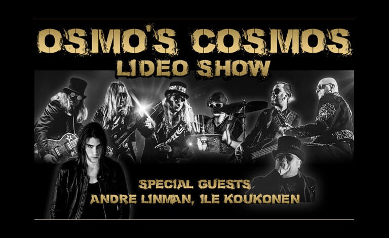 Osmo's Cosmos Lideo Show: Special guests André Linman & Ile Koukonen Liput
