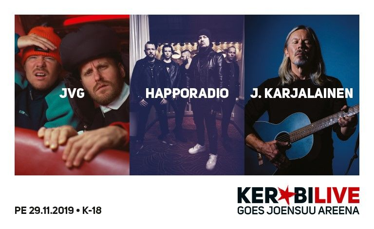 Kerubi Live Goes Joensuu Areena 2021