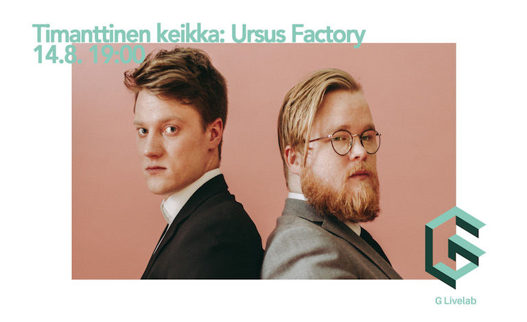 Timanttinen keikka: Ursus Factory Tickets