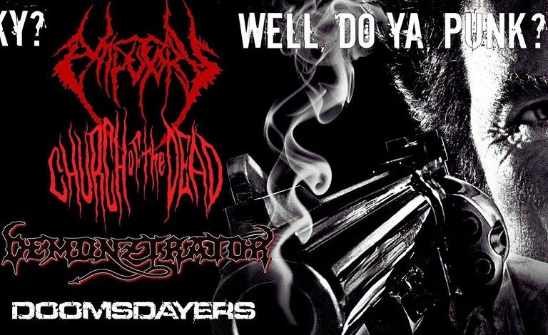 Corpsessed, Church Of The Dead, Demonztrator, Doomsdayers Liput
