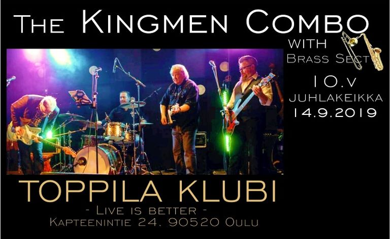 The Kingmen Combo Liput
